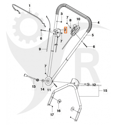 Gasreglage Comet S, SE, Cobra S, SE, Pro 19 S, 21 S m.fl. 5033096-01 - 1