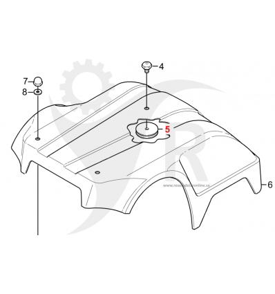 STIGA Ring Autoclip 520, 523, 525, 1126-1179-01 - 1