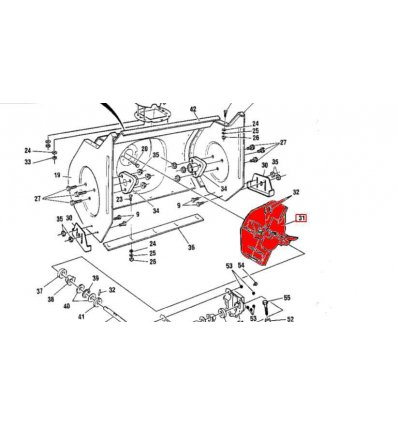STIGA Fläkthjul ST522 1812-1343-01 - 1
