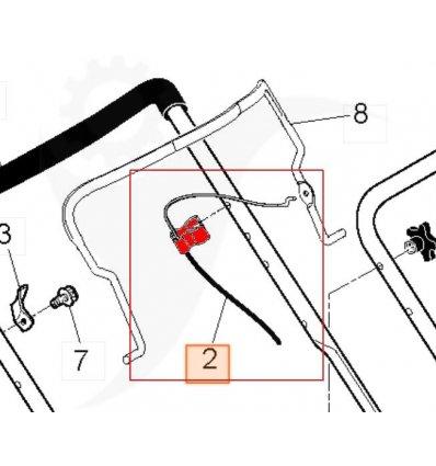 HUSQVARNA Drivvajer 5312118-47 - 1