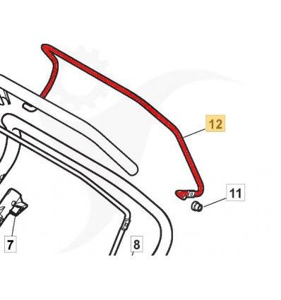 STIGA Drivhandtag Combi 53, Combi 48, 181003301/0 - 1
