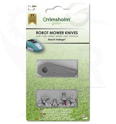 Robotknivar Bosch Indego 9-pack, F16800321 - 1